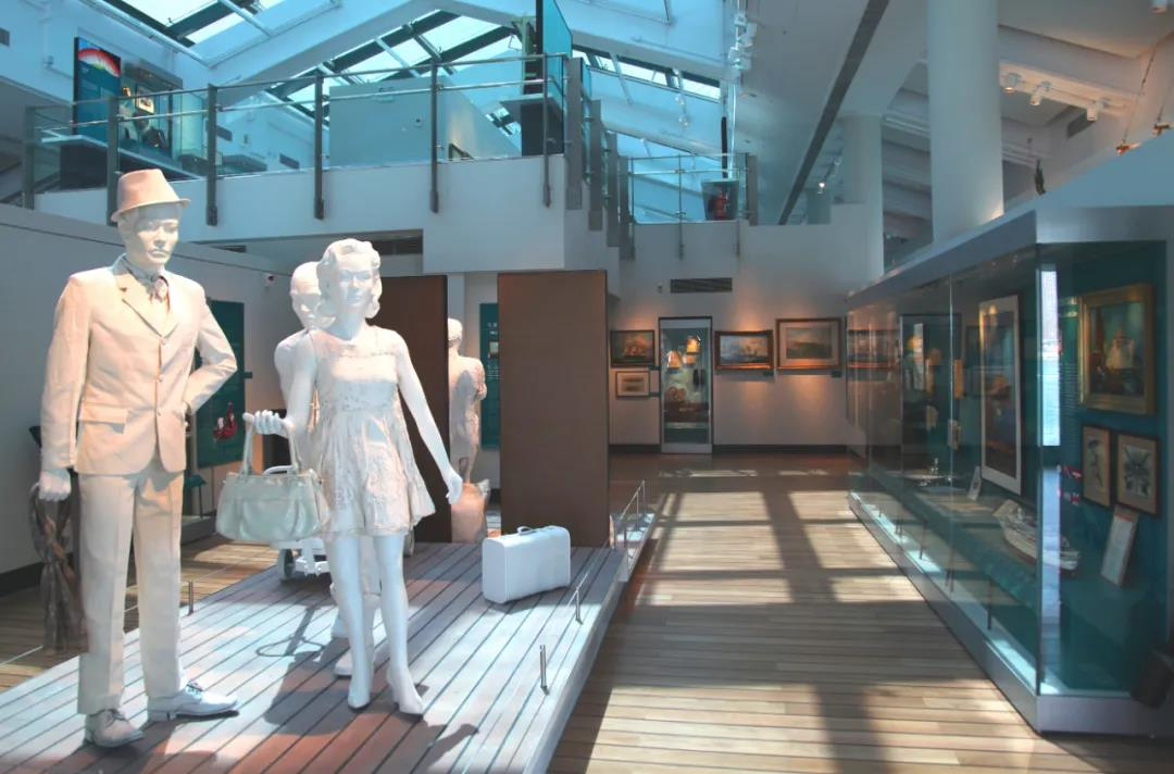 Relicase  provide museum display cases for Hong Kong Maritime Museum